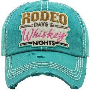 Accessories - 🌵Rodeo & Whiskey Nights Trucker Hat🌵